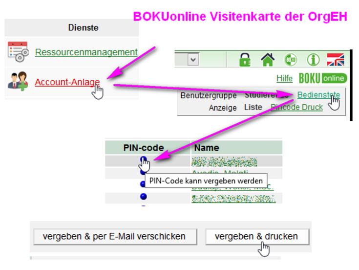 Accountverwaltung Zentraler Informatikdienst Und