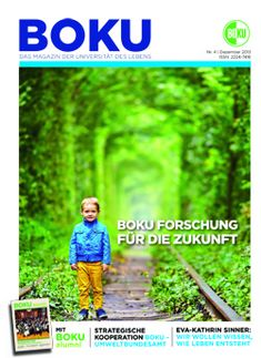 BOKU Magazin Cover 4 / 2013