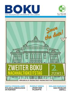 BOKU Magazin Cover 1 / 2016