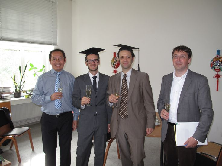 Promotion, Dr. Soranzo and Dr. Brückl