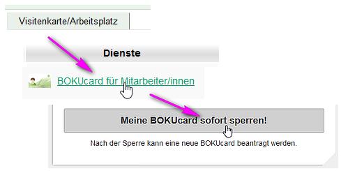 Bokucard Für Mitarbeiter Innen Zentraler Informatikdienst